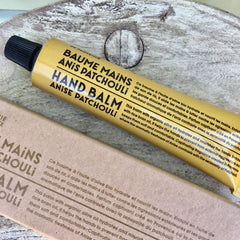 Organic Hand Cream - Anise Patchouli Fragrance