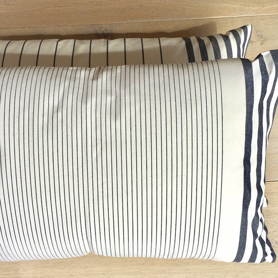 Cushion - Rectangular Sauvelade, Narrow Stripes