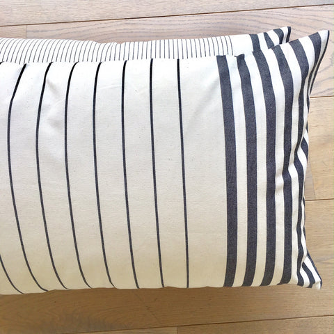 Cushion - Rectangular Sauvelade, Wide Stripes