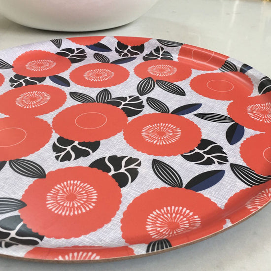 Retro Tray - Red