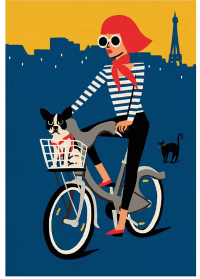 Original Retro Print - Velo, Paul Thurlby