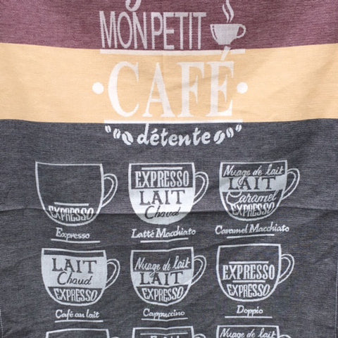 Tea Towel - Cafe