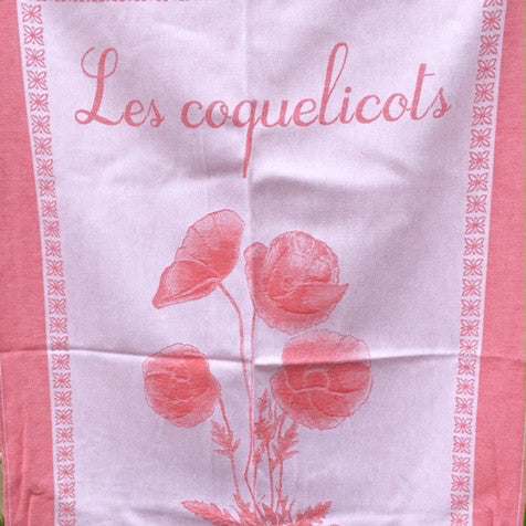 Tea Towel - Le Coquelicots (Poppies)