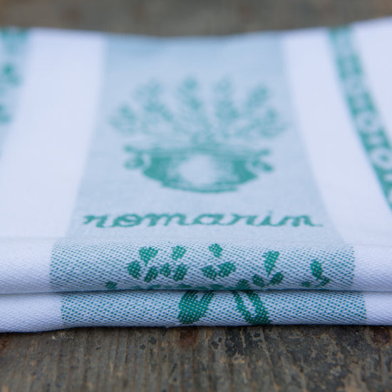 Tea Towel Traditional - Vert (Green)