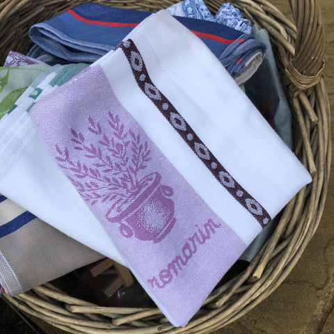 Tea Towel Traditional - Lavende (Lavender)