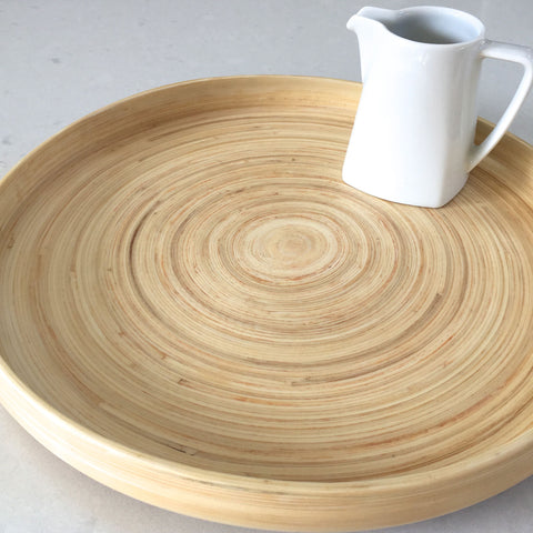 Bamboo Tray -  Natural