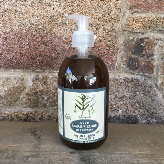 Marseille Liquid Soap - Verveine (Lemon Verbena) Fragrance