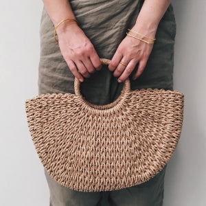 Banana Tree Handbag - Tan