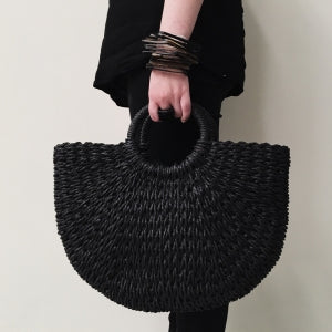 Banana Tree Handbag - Black