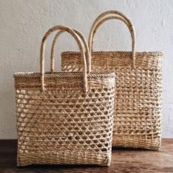 Rattan Shopping Bag - Natural