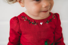 Deck the Halls Romper-EARLIER DELIVERY DATE