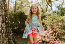 Caribbean Floral Dress and Bloomer Set