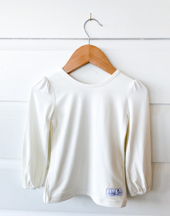 Cream Layering Shirt