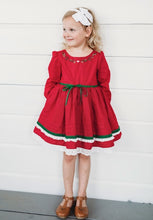 Deck the Halls Dress and Bloomer Set-EARLIER DELIVERY DATE