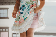 Vintage Floral Lounge Gown and Bloomers