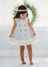 Belle Fleur Lounge Gown and Bloomer Set