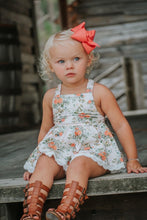Chloe Skirted Romper - Orange Blossom