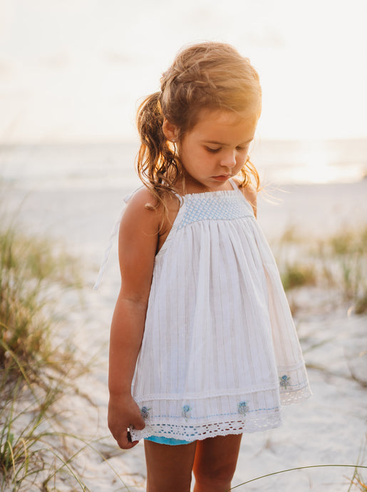 Sand and Sea Tunic Set