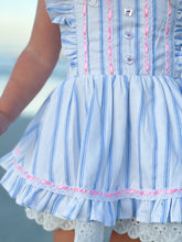 Cotton Candy Pinafore Set
