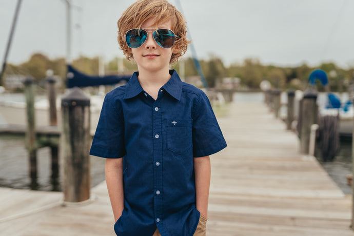 Anchors Aweigh Navy Boy Shirt