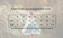Chloe Skirted Romper-Forest Floral