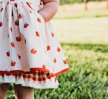 Allie Apple Dress and Bloomer Set