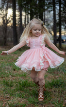 Reese Dress and Bloomers- Playful Peach