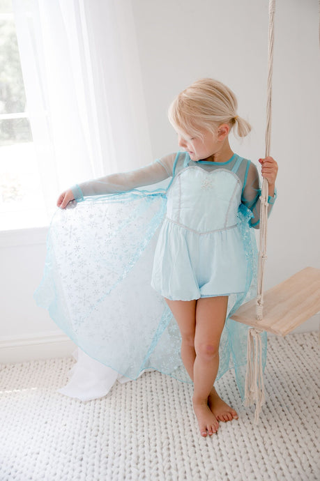 PREORDER- Elsa Bubble with Removable Cape