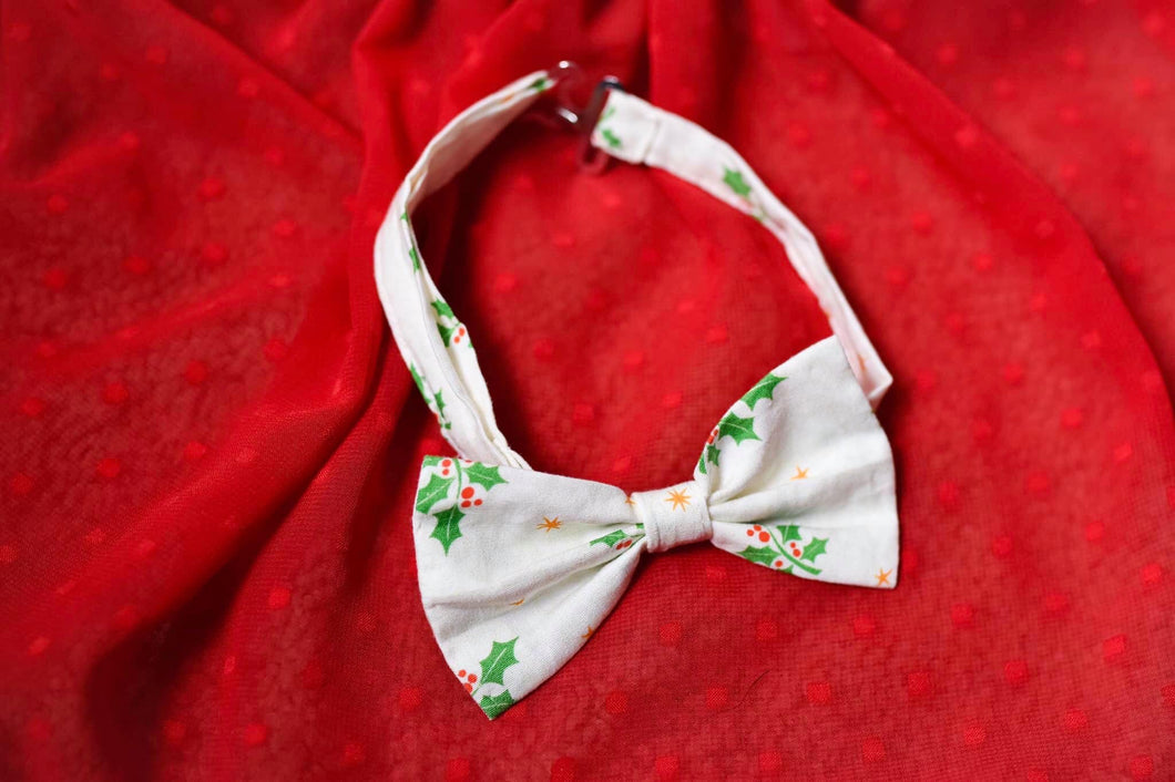 Holly Berry Bowtie
