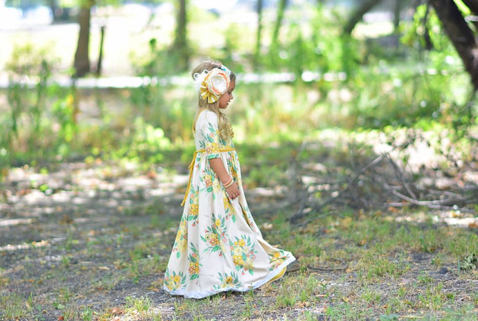 SAMPLE Boho Fall Floral Maxi