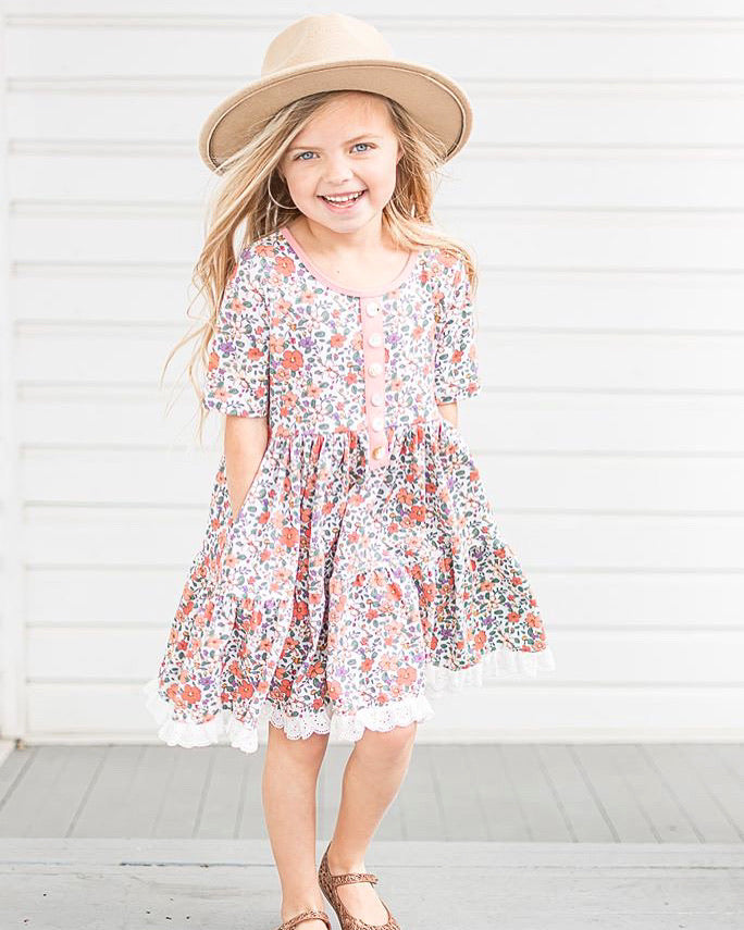 Chloe Dress Set- Spring Fling