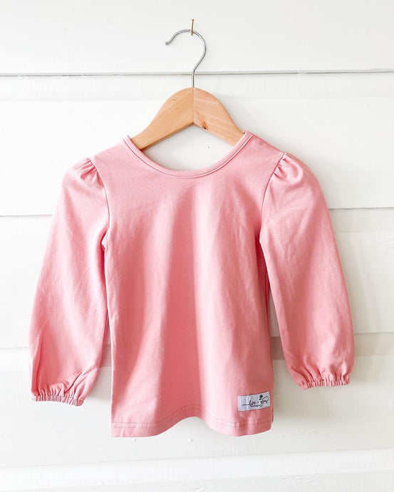 Rose Layering Shirt (No Collar)