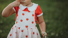 Chloe Apple Romper and Shirt Set