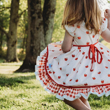 PREORDER Allie Apple Dress and Bloomer Set