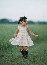 Julia Dress and Bloomers- Summer Sunset