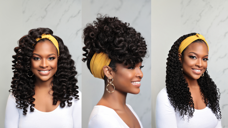 6 Ways To Style Your Headband Wig Image
