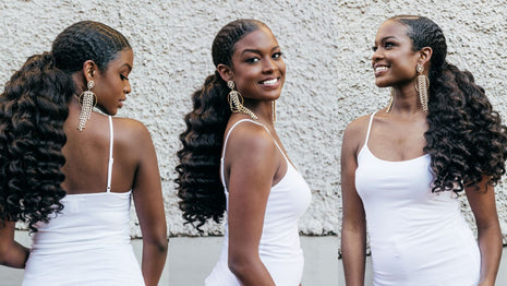 5 Natural Hairstyles For Wedding Guests Image