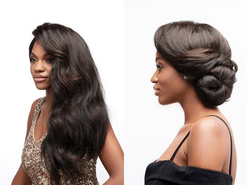 4 Natural Hairstyles for the Holidays Image