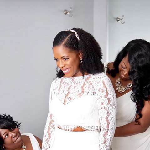 Bridal Ready 7 Natural Hairstyles For Your Wedding Day Hfhm