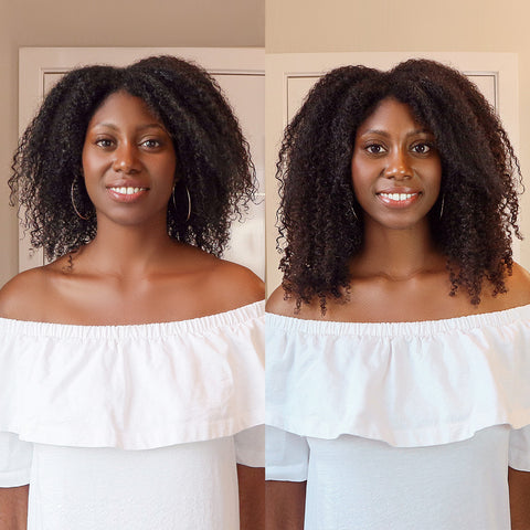 clip-ins for natural hair