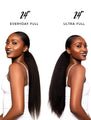 """Blow Out""  Drawstring Ponytail"