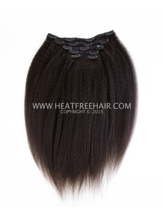 For Kinks Wefted Hair (Black)