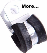 AN Braided Hose Cushioned P-Clamps