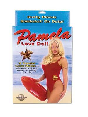 Pamela - Busty Blonde Love Doll - 3 Penetrating Holes, Full Size