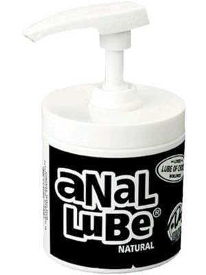 Anal Lube in Pump Dispenser Natural 175ml