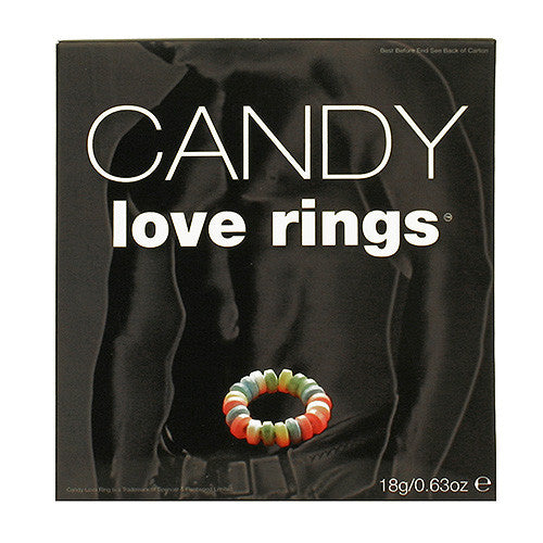 Candy Love Rings (3 Pack)