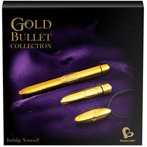 Rocks Off Gold Bullet Collection