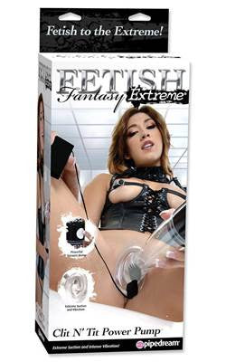 Fetish Fantasy Extreme Tit and Clit Power Pump