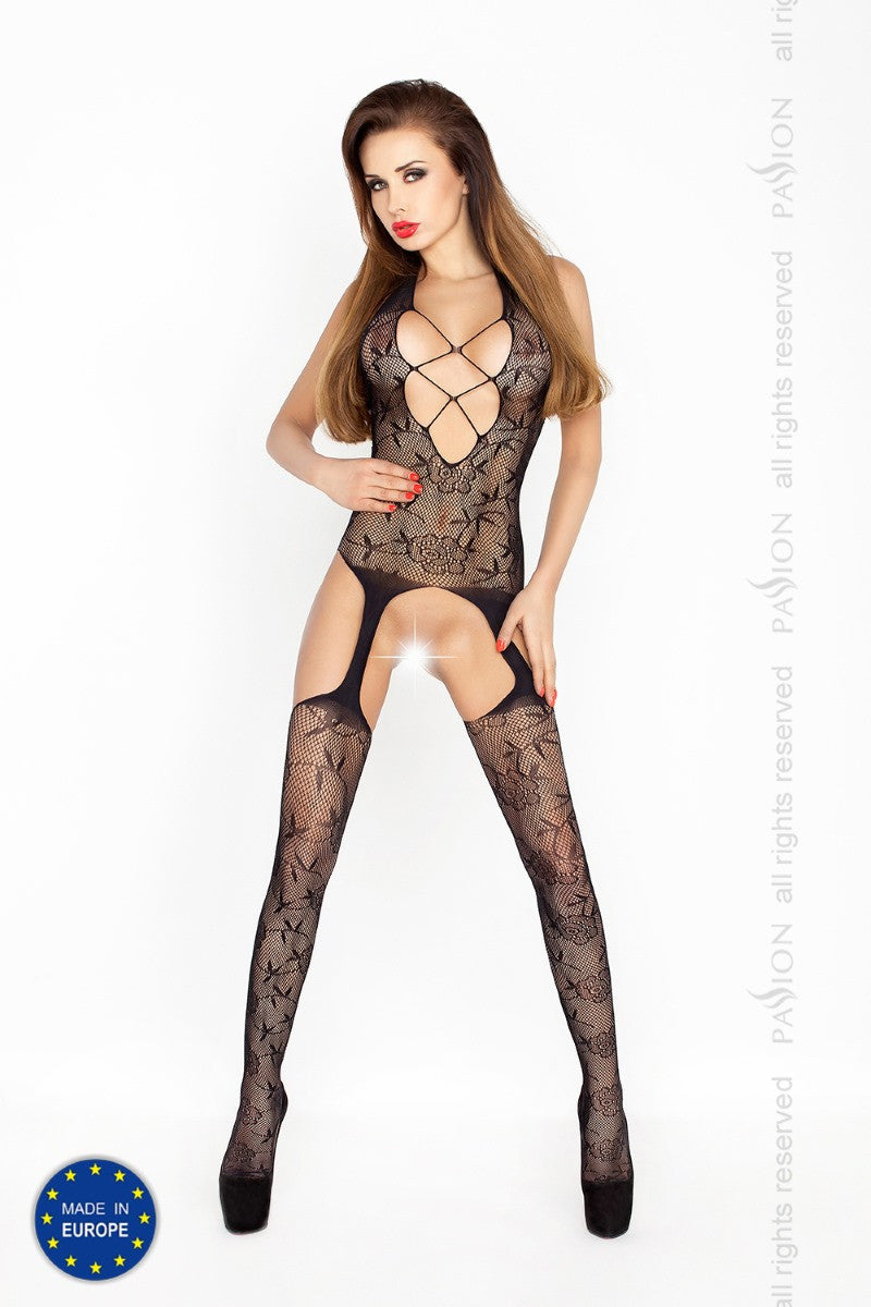 Passion Leaf Mofit Suspender Bodystocking