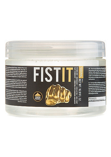 Fist It Natural Lubricant - 500ml